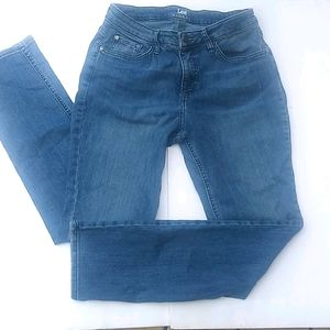 Lee Riders Jeans Mid Rise Size 6